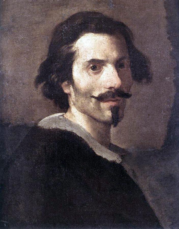 Giovanni Lorenzo Bernini - autoportret. Źródło: www.wikipedia.pl