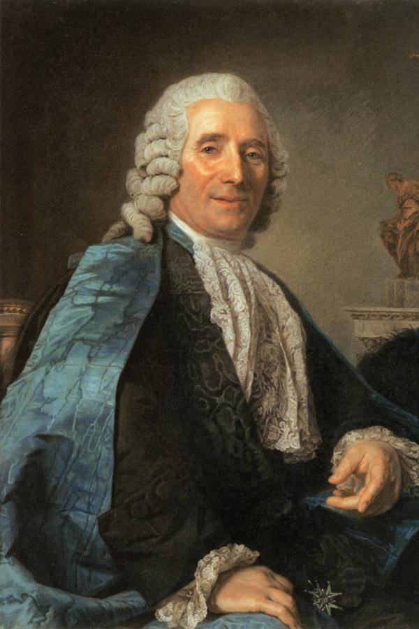 Jean-Baptiste Pigalle. Portret pędzla Marie-Suzanne Roslin. Źródło: www.wikipedia.pl