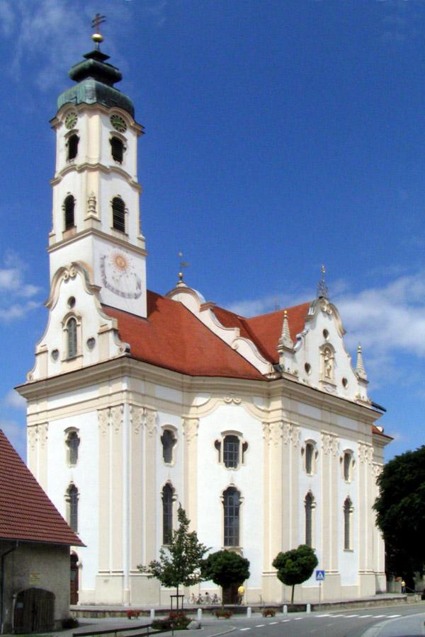 Kościół pielgrzymkowy w Steinhausen. By Michail Jungierek (Own work) [GFDL (http://www.gnu.org/copyleft/fdl.html), CC-BY-SA-3.0