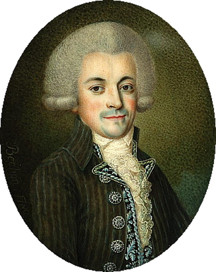 Jan Chrystian Kamsetzer. By Karol Bechon (1732-1812) [Public domain], via Wikimedia Commons