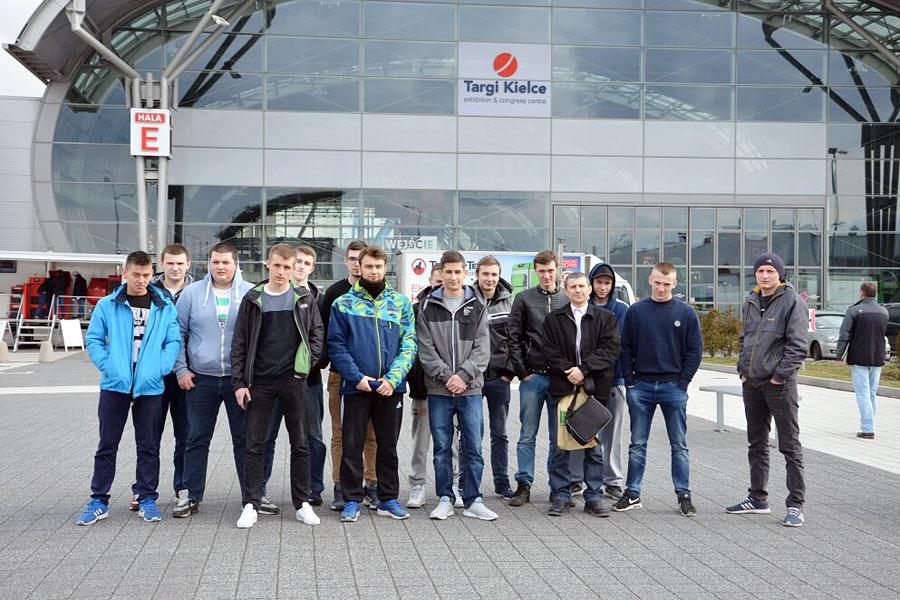 Uczniowie Technikum Mechanicznego ZSP na Targach EKOTECH w Kielcac
