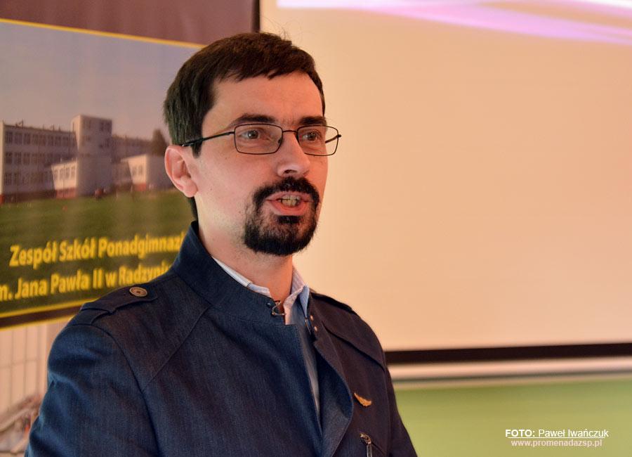 Wybitny absolwent w progach ZSP - spotkanie z dr hab. inż. Jackiem Czarnigowskim