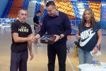 Marek Kulik - zwyciężca wojewódzkiej Licealiady