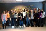Uczniowie z wizytą w WFDiF  w Warszawie