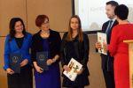Uroczystość uhonorowania laureatów  konkursów